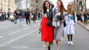 Hồ Ngọc Hà xuất hiện ấn tượng tại Paris Fashion Week