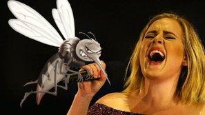 """""""Người khổng lồ"""" Adele văng tục, khóc lóc trên sân khấu vì sợ muỗi cắn"""