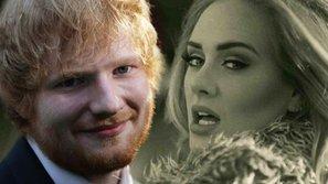 Ed Sheeran chuẩn bị cho Adele