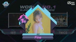 M!Countdown 9/3: Taeyeon chặn đứng mạch chiến thắng của TWICE ngay trong ngày sinh nhật