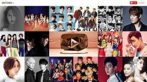 SM trở thành công ty âm nhạc châu Á đầu tiên nhận Nút Kim Cương của YouTube