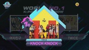"""Twice giành chiến thắng thứ 7 tại M! Countdown với """"Knock Knock"""""""