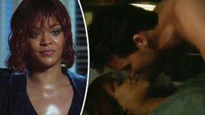 Rihanna không dám xem cảnh nóng mình đóng với nam tài tử điển trai