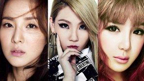 Không đứng cùng sân khấu nữa, 2NE1 vẫn bày tỏ tình cảm cho nhau thế này đây