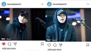 Sơn Tùng xuất hiện trên Instagram của Dispatch Hàn Quốc
