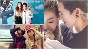 Vpop xuất hiện những cặp đôi mới khiến fan ủng hộ nhiệt tình chuyện hẹn hò