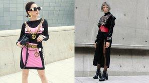 Nữ ca sĩ Tóc Tiên và Min lọt top street style của tạp chí danh tiếng Vogue