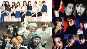 Top 10 boygroup, girlgroup sở hữu fandom hùng mạnh thống trị Kpop tháng 3/2017