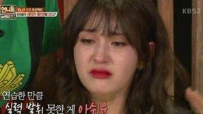 """Jeon Somi khóc nức nở khi bị phê bình về giọng hát trên """"Unnie's Slam Dunk 2"""""""
