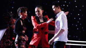 Mở đầu vòng Đo ván Giọng hát Việt 2017, Tóc Tiên đã có màn cứu thí sinh đầy cảm xúc