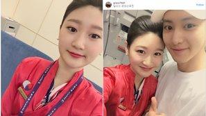 Nữ tiếp viên hàng không ca ngợi EXO sau lần đầu gặp gỡ trên chuyến bay