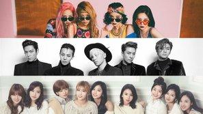 Top 10 ca khúc của các idolgroup được nghe nhiều nhất trên MelOn trong vòng 24 giờ