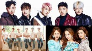 Đi tìm nhóm nhạc thần tượng thế hệ 1 xuất sắc nhất do chính netizen Hàn bình chọn