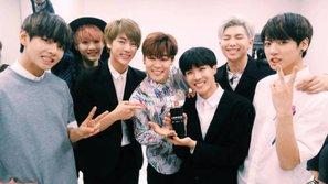 Các staff đã ăn mừng chiến thắng đầu tiên của BTS như thế nào?