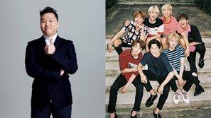 PSY bày tỏ niềm tự hào khi BTS được đề cử tại
