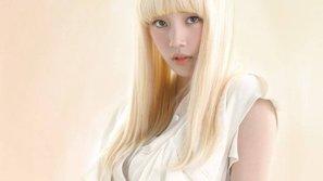 Không chỉ tóc đen, đến vàng bạch kim Suzy vẫn