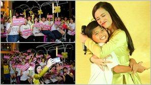 Đông Nhi hạnh phúc trong vòng tay fan ngày kỉ niệm FC tròn 9 tuổi