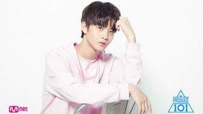 """Thí sinh Produce 101 gây chú ý vì có nét đẹp """"lai"""" giữa Sehun (EXO), Eunwoo (ASTRO) và Mark (NCT)"""
