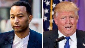 """John Legend: """"Donald Trumplà một gã tồi, một thất bại của nước Mỹ"""""""