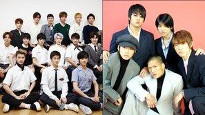 Top 8 nhóm nam có khoảng cách tuổi tác giữa anh cả và em út lớn nhất Kpop