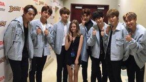 Nữ diễn viên nhí Kylie Rogers tiết lộ thành viên trong BTS mà mình muốn được hợp tác trong lĩnh vực diễn xuất