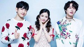 Kim Heechul (SuJu) cảm động với sự trợ giúp của Jisoo (Black Pink) và Jinyoung (GOT7) tại Inkigayo