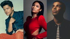 """Drake, Nicki Minaj, Bruno Mars... chính là dàn khách mời """"siêu khủng"""" của BBMAs năm nay"""