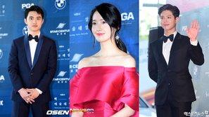 Netizen phát sốt với hành động đáng yêu của Yoona, D.O. và Park Bo Gum tại lễ trao giải Baeksang