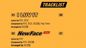 """""""Chàng béo"""" PSY tung ra track list cho album comeback thứ 8"""