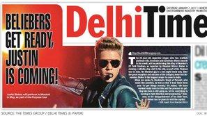 """Justin Bieber gây bão mạng với bảng """"yêu sách"""" có 1-0-2 khi đi tour ở Ấn Độ"""