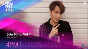 Không ngờ Sơn Tùng M-TP lại tự tin gửi lời chào đến các fan quốc tế bằng tiếng Anh như thế này!