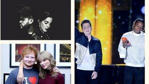 4 cặp đôi tuyệt đẹp trong những sản phẩm âm nhạc đình đám