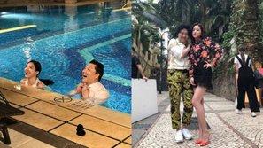 Naeun (APink) hào hứng khoe ảnh hậu trường MV hoành tráng của tiền bối PSY