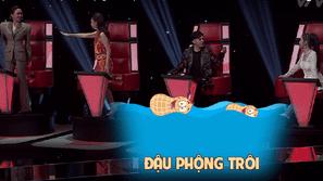 """Chết cười với biểu cảm """"lạc trôi"""" của bộ tứ quyền lực Giọng hát Việt 2017"""