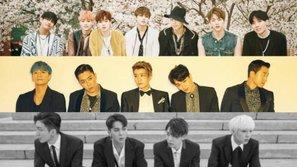 BXH thương hiệu nhóm nhạc nam tháng 5: BTS quyết không rời ngôi vương, SECHS KIES trở lại ấn tượng
