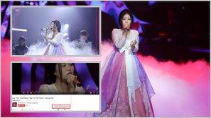 """""""Lạc trôi"""" của Han Sara lại lập kỉ lục không kém gì phiên bản gốc"""