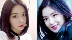 Những idol nữ sở hữu gương mặt có nét giống nhau như hai chị em!