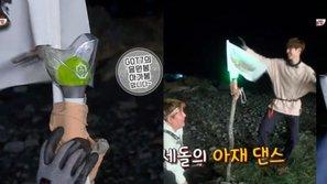 """Mark (GOT7) đã làm gì với lightstick nhóm mà khiến dàn cast """"Law Of The Jungle"""" bất ngờ?"""