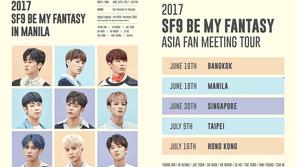 SF9 tổ chức họp fan quốc tế lần đầu tiên tại Manila