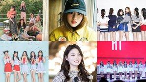 Top 6 tân binh Kpop năm 2017 có xuất thân từ các show thực tế sống còn