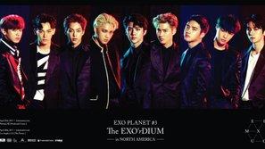 EXO thu được hơn 1 triệu đô từ concert ở Mỹ và lọt top 8 Billboard Current Boxscore