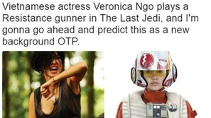 """""""Đả nữ"""" Ngô Thanh Vân chính thức góp mặt trong siêu xuất phẩm - """"Star Wars: The Last Jedi"""""""