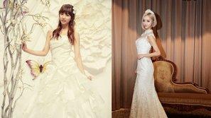 Ngất ngây nhan sắc xinh đẹp của 10 nữ thần khi mặc váy cưới