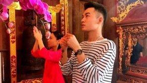 Thu Minh dẫn trò cưng Ali Hoàng Dương đi viếng nhà thờ tổ trước giờ G