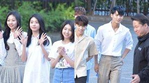 Music Bank 26/5: Ngắm những idol mặc quần áo như diện đồ đôi với nhau