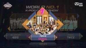 M!Countdown: TWICE đánh bại Seventeen giành chiến thắng thứ 7 cho