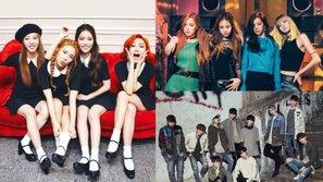 Black Pink, Mamamoo và UP10TION đồng loạt tung ảnh nhá hàng comeback