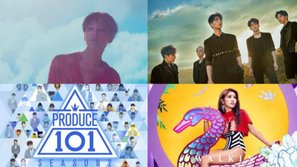 """G-Dragon, DAY6, Suran và Produce 101 """"chào sân"""" ấn tượng trên BXH album Billboard"""