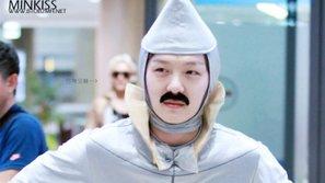 Top 8 bộ trang phục kì lạ nhất của idol nam tại sân bay