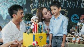 """Đến hẹn lại lên, Hà Hồ """"tái hợp"""" Cường Đôla để tổ chức sinh nhật cho con trai"""